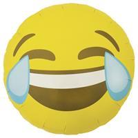 Fun & Feest Folie ballon LOL smiley 46 cm