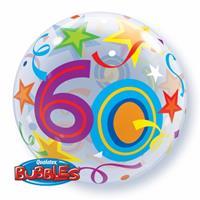 Qualatex Helium ballon rond 60 jaar