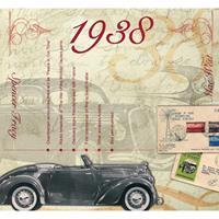 Fun & Feest Verjaardag CD-kaart met jaartal 1938