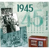 Fun & Feest Verjaardag CD-kaart met jaartal 1945