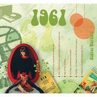Fun & Feest Verjaardag CD-kaart met jaartal 1961