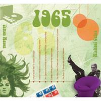 Fun & Feest Verjaardag CD-kaart met jaartal 1965