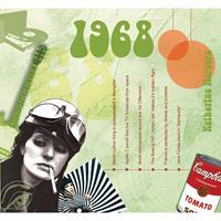 Fun & Feest Verjaardag CD-kaart met jaartal 1968