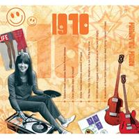 Fun & Feest Verjaardag CD-kaart met jaartal 1970