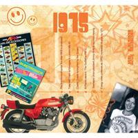 Fun & Feest Verjaardag CD-kaart met jaartal 1975