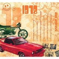 Fun & Feest Verjaardag CD-kaart met jaartal 1978