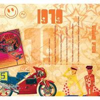 Fun & Feest Verjaardag CD-kaart met jaartal 1979