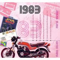 Fun & Feest Verjaardag CD-kaart met jaartal 1983