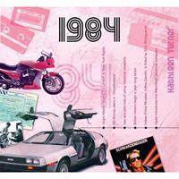 Fun & Feest Verjaardag CD-kaart met jaartal 1984