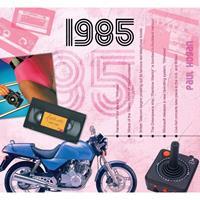 Fun & Feest Verjaardag CD-kaart met jaartal 1985