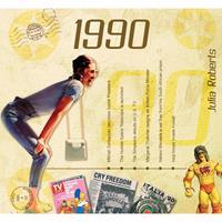 Fun & Feest Verjaardag CD-kaart met jaartal 1990