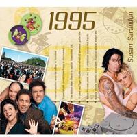 Fun & Feest Verjaardag CD-kaart met jaartal 1995