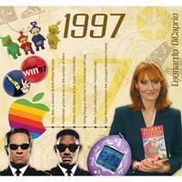 Fun & Feest Verjaardag CD-kaart met jaartal 1997