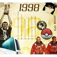 Fun & Feest Verjaardag CD-kaart met jaartal 1998