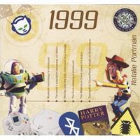 Fun & Feest Verjaardag CD-kaart met jaartal 1999