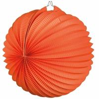 Oranje artikelen Oranje lampionnen bolvormig