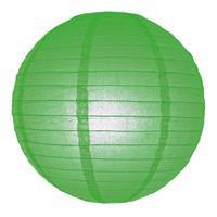 Fun & Feest Groene lampion rond 25 cm