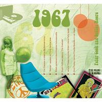 Fun & Feest Verjaardag CD-kaart met jaartal 1967