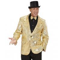 Colbert pailletten goud Goudkleurig