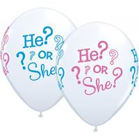 Folat Geboorte geslacht ballonnen 25 stuks