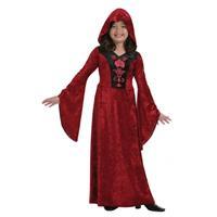 Bellatio Rode meisjes vampieren jurk - Rood