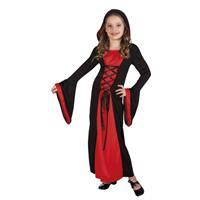 Bellatio Vampier jurk Valentina voor meisjes