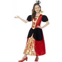 Smiffys Hartenvrouw jurk voor meisjes