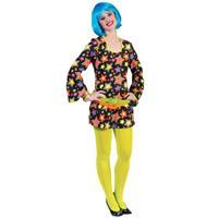 Bellatio Funky disco jurk met sterren Multi