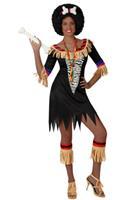 Bellatio Zulu kostuum voor dames