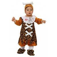 Holbewoner kostuum voor babies