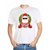 Shoppartners Foute Kerst t-shirt stoned Kerstman voor heren