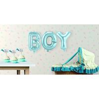 Folat Opblaasletters BOY geboorte ballonnen