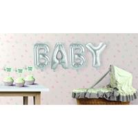 Folat Opblaasletters BABY geboorte ballonnen