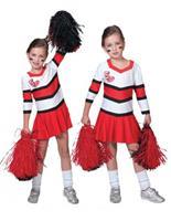 Bellatio Cheerleader jurkje voor meisjes