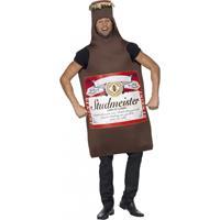 Smiffys Studmeister bierfles kostuum Multi