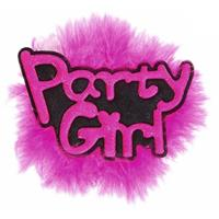 Bellatio Roze vrijgezellen broche Party Girl
