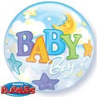 Folat Helium ballon baby boy