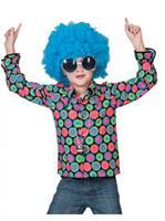 Bellatio Jaren 70 disco overhemd voor kids