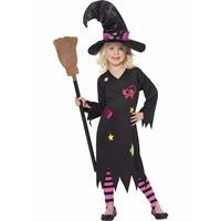 Smiffys Heksen verkleedkleding Rosa voor meisjes