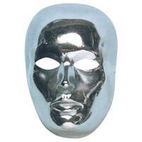 Bellatio Zilveren gezichtsmasker