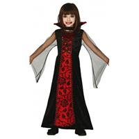 Bellatio Rode vampieren jurk voor meisjes