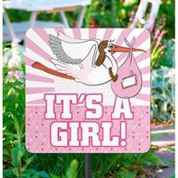 Folat Tuinbord geboorte meisje