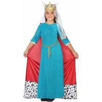 Atosa Koningin kostuum voor meisjes