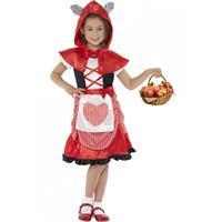 Smiffys Jurkje roodkapje voor meisjes