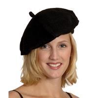 Bellatio Zwarte Franse baret