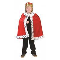 Bellatio Koning cape voor kinderen