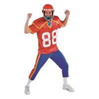 Bellatio American football speler kostuum Multi