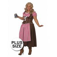 Bellatio Oktoberfest - Lange Dirndl jurk Multi