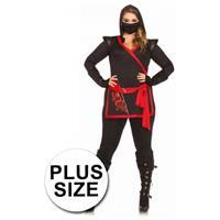 Leg Avenue Ninja kostuum voor dames