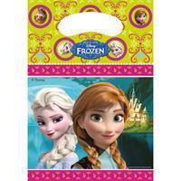 Disney Frozen thema feestzakjes 6 stuks